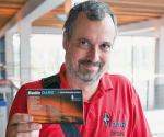 Rainer Englert, DF2NU, hier auf der Ham Radio 2015; Foto: DL2MCD